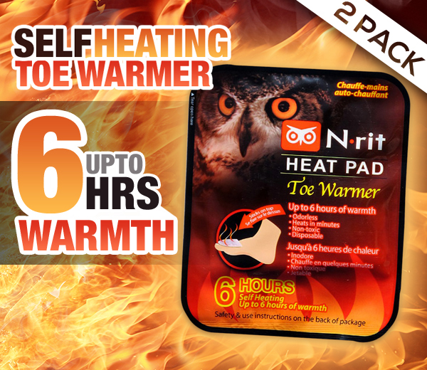 N-Rit Disposable Self Heating Hand Warmers